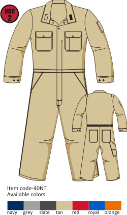 Tecasafe plus 7oz Summer Coverall